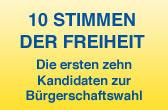 Zehn Stimmen bei der FDP