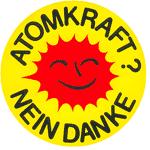 Atomkraft - Nein Danke-Aufkleber