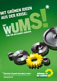 EU-Wahlplakat der Grünen