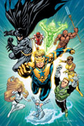 Justice League International Cover