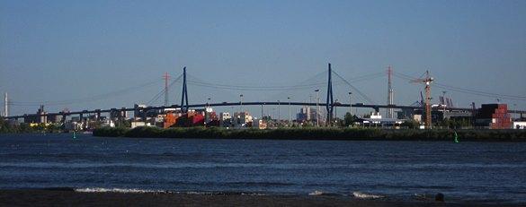 Bild der Hamburger Köhlbrandbrücke
